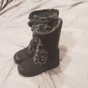 Nine West Boots Girl Sz 12